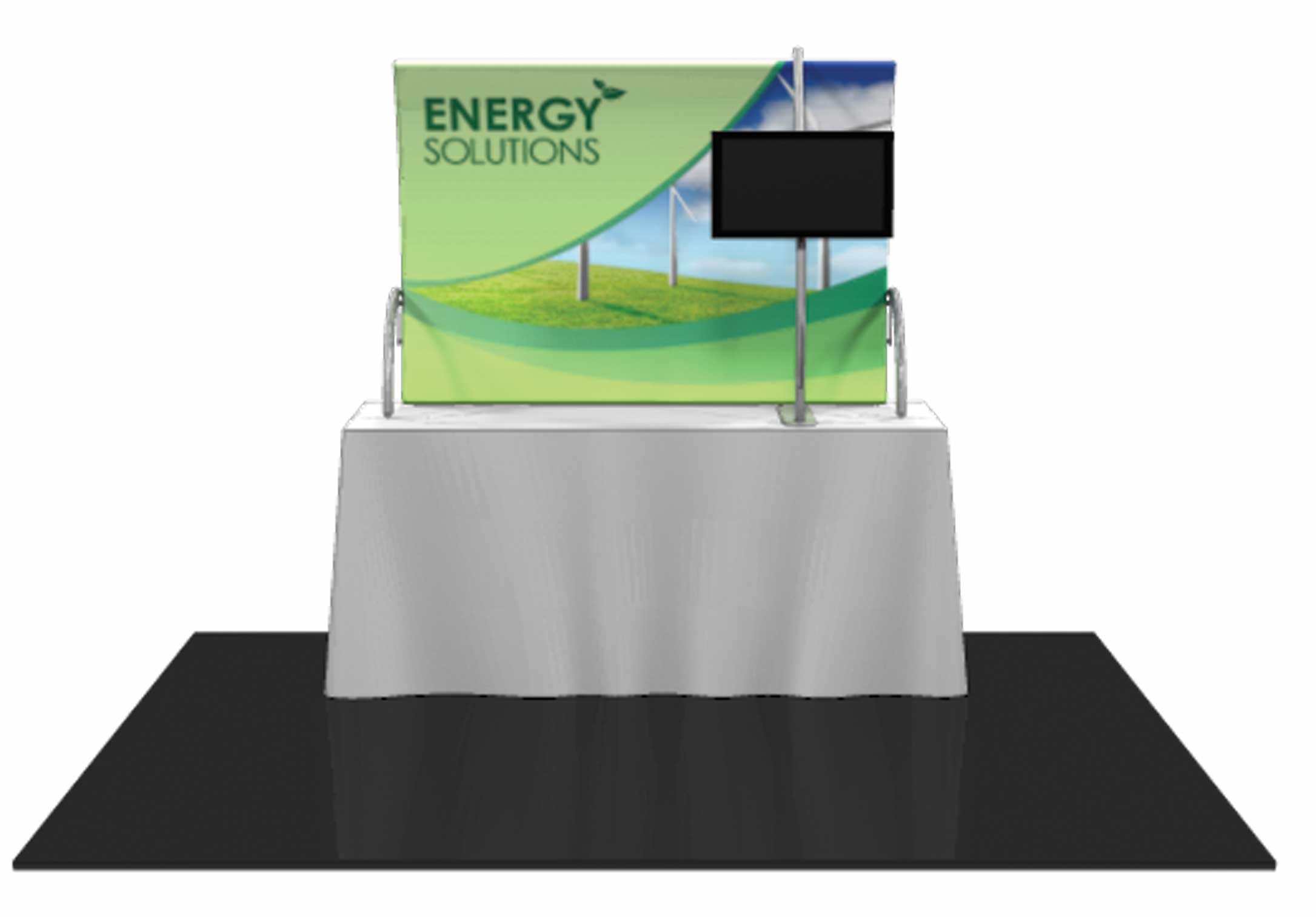 Formulate Tension Fabric Tabletop Displays