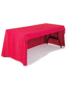 3-Sided Economy Table Cover - Unprinted