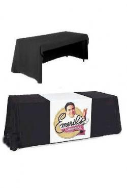 3-Sided Table Cover with Silk Screen Graphics