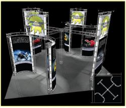 Altair Truss Trade Show Display