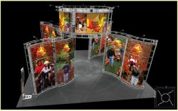 Canis Truss Trade Show Display