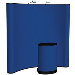 Orbus Coyote Pop-Up Fabric Display Kit 10' and 8' Wide x 8 High