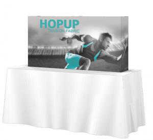 HopUp 8' Tension Fabric Tabletop Displays