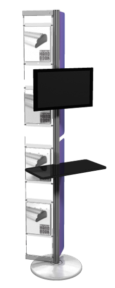 Linear Monitor Kiosk Kit  07