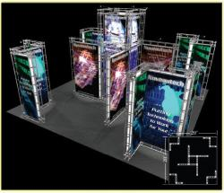 Neptune Truss Trade Show Display