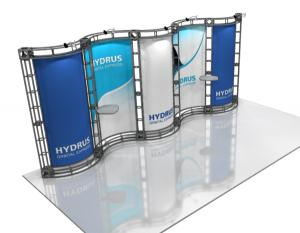 Hydrus 10' x 20' Orbital Truss Display