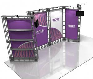 Indus 10' x 20' Orbital Truss Display