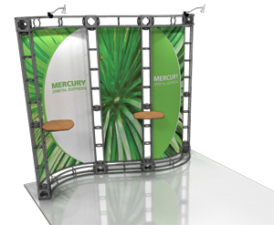 Mercury 10' x 10' Truss Display