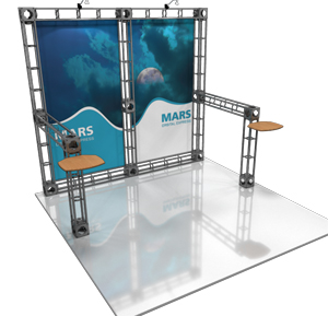 Mars 10' x 10' Truss Display