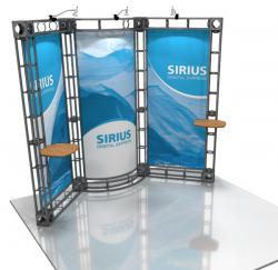 Sirius 10' x 10' Truss Display