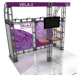Vela-2 10' x 10' Truss Display