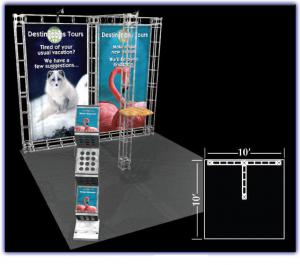 Pluto 10' x 10' Truss Display