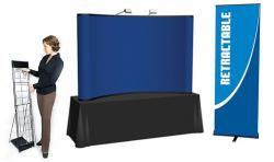 Quality 8' Pop Up Table Top Display Kit 4