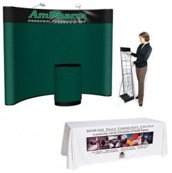 Quality 10' Pop Up Floor Display Kit 6