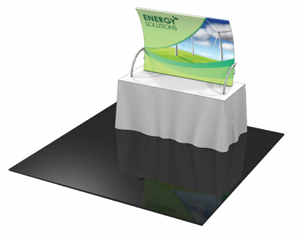 Formulate TT2 6' Fabric Table Top Display