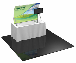 Formulate TT3 6' Fabric Table Top Display