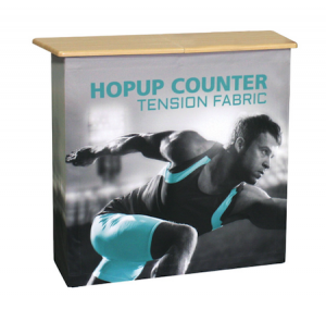 Hop Up Trade Show Counter