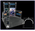 View: Cetus 10' x 10' Truss Display