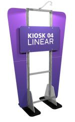 View: Linear Large Display Kiosk Kit 04