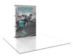 View: Hop Up 2×3 Straight Pop Up Display w/ Full Fitted Graphic