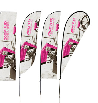 outdoor banner flags