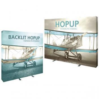 View: Hopup Tension Fabric Displays