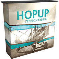 Tension Fabric Displays - Hop Up