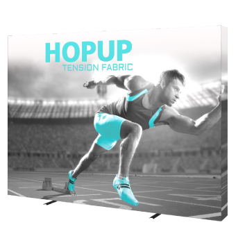 View: Hop Up Tension Fabric Displays