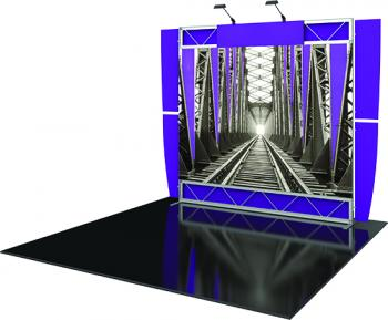 View: Vector™ Frame System Fabric Displays