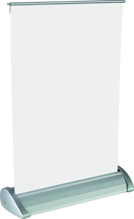 Orbus Breeze Retractable Tabletop Banner Stand