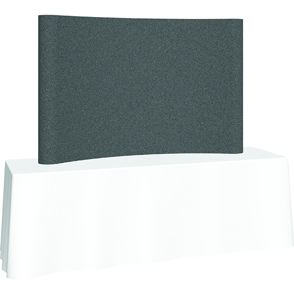 Orbus Coyote Mini Pop Up Display 8ft Full Fabric Panel with Frame