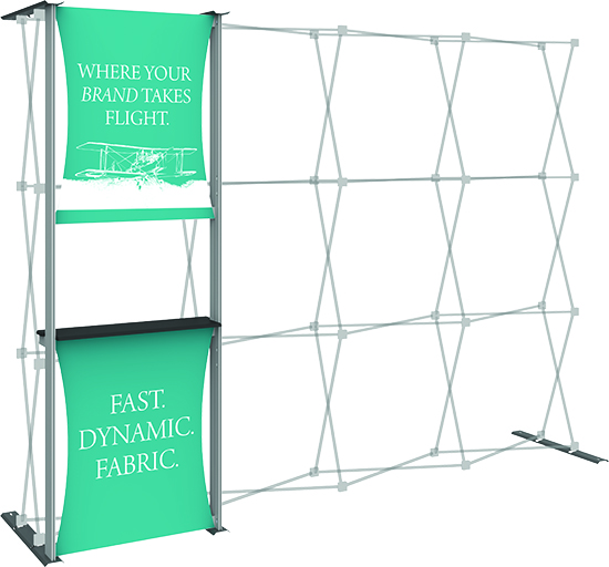 10ft HopUp Display Frame Kit 04 with Graphics