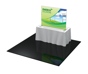 Formulate TT4 6u0027 Fabric Table Top Display