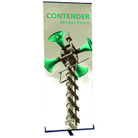 Orbus Mini Contender Retractable Banner Stand