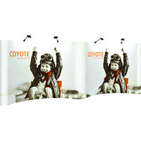 Orbus 20ft Coyote Gull wing Pop up Mural Kit