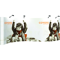 Orbus 20ft Coyote Serpentine Pop up Graphic Mural kit