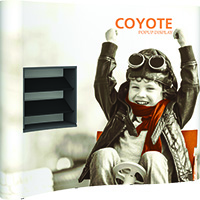 Orbus Shelf Kit for Coyote Full Height Pop up Displays