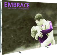 10ft x 8ft Orbus Embrace stand up exhibit