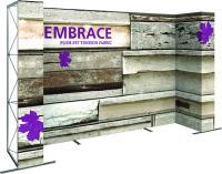 10ft U-Shape Embrace Display by Orbus