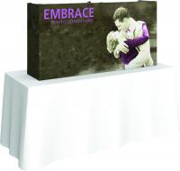 Orbus Embrace 2x1 Table top display with end caps