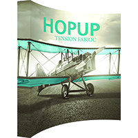 10ft x 10ft or 4x4ft Extra Tall HopUp Display with Hardware