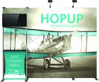 View: 10' W Dimensional Hop Up Full Display Kit 03