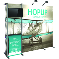 10' HopUp Accessory Frame and Wall Kit 03