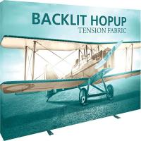 Orbus Hopup 10ft Backlit Straight Tension Fabric Display