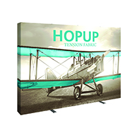 3x4 HopUp Full Graphic Display for portable booth walls or retail displays