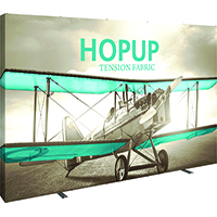 5x3' Pushfit Graphic Display with Frame