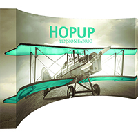 15ft Curved HopUp by Orbus