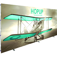 20' Orbus HopUp Back Wall with Front image
