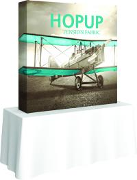 HopUp Tension Fabric Displays for Table Tops