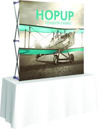View: Hop Up 6' Wide Table Top Display Replacment Fabric Graphics